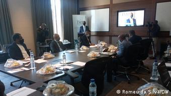Afrika Mosambik Konferenz in Maputo über Cabo Delgado