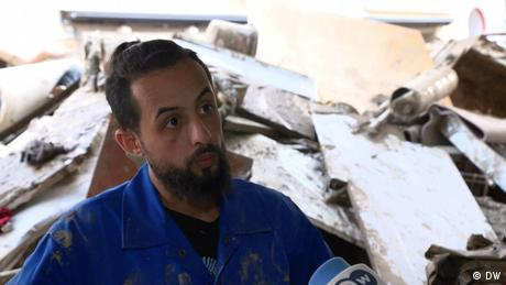 DW visited a young Syrian inAhrweiler, who has lost everything—for the second time in his life.