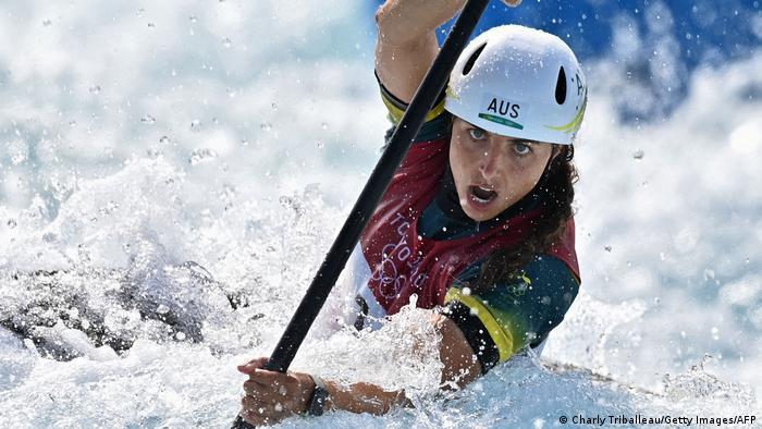 جسیکا فوکس، مدال طلای قایقرانی (کانو اسلالوم) را برای استرالیا بدست آورد. این کشور برای مدال طلا ۱۵ هزار یورو، مدال نقره ۱۱ هزار یورو و برای مدال برنز نیز ۷ هزار ۴۰۰ یورو جایزه نقدی یه وزرشکاران مدال آور خود پرداخت میکند.