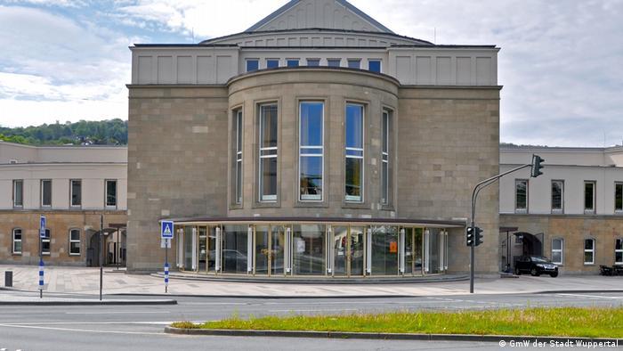 Вуппертальский оперный театр до наводнения