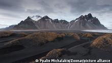 23.06.2020 Icelandic Landscape Southern Iceland, Hofn, Stokksnes peninsula with the famous Vestrahorn Mountains