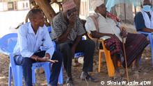Elders discussing issue on conservancy in Isiolo county in Kenya.