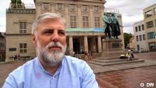 Video-Reportage über den serbischen Erzbischof Grigorije in Deutschland. Grigorije Duric in Weimar Autor: Miodrag Soric Ort: Berlin, Weimar, Fürstenbeerg, Dresden, Himmelstür Datum: KW 27