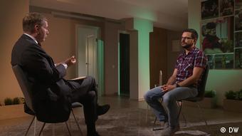 Илья Яшин в интервью DW