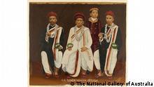Guru Das Studio, not titled [Gujarati family group portrait], India purchased 2009 -- The National Gallery of Australia via Vivek Kumar