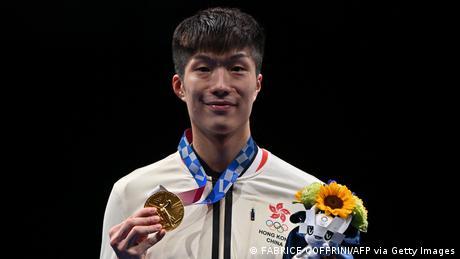 Tokyo2020 Olympia Hongkong Cheung Ka Long Fechten