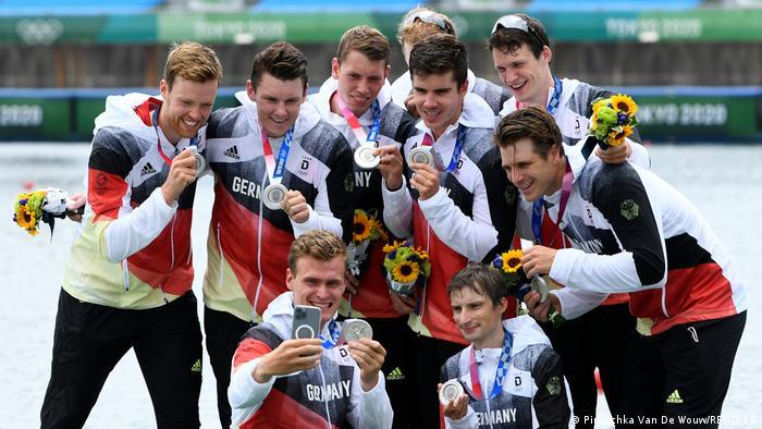 Tokyo 2020 | 8er-Rudern: Deutsches Team holt Silber