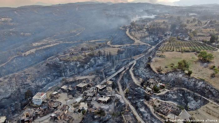 Pakdemirli: Envanterde yangın söndürme uçağı yok