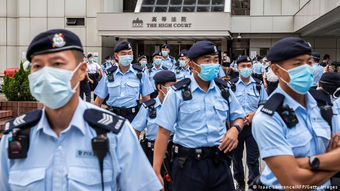 Hongkong Gerichtsprozess Tong Ying Kit