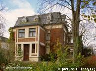 Villa  Silberblick, última residência de Friedrich Nietzsche, perto de Weimar