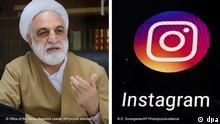 Instagram-Account vom Chef der iranischen Justiz gesperrt.