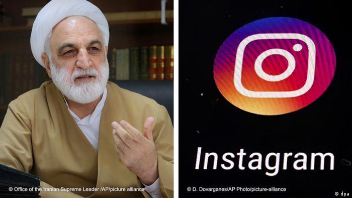 Kombibild   Instagram   Gholamhossein Mohseni Ejehi