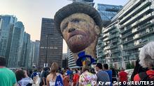WS   Kanada Vincent Van Gogh Ausstellung Toronto