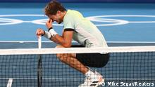 Tokio 2020 | Tennis | Halbfinale - Alexander Zverev gegen Novak Djokovic