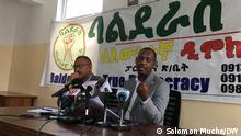 Balderas For True Democracy party Press conferenece Addis Ababa, Ethiopia