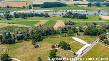 Das Römerkastell Abusina an der Donau. Der sogenannte Donaulimes soll im Rahmen des bereits bestehenden Welterbes «Die Grenzen des Römischen Reiches» der Unesco aufgenommen werden. +++ dpa-Bildfunk +++