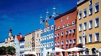 Alte Häuser in Bamberg