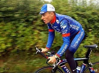 O ciclista americano Lance Armstrong