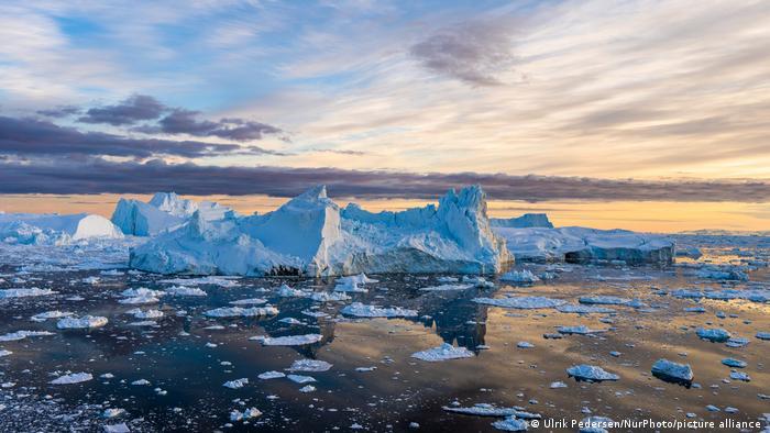 Eisberge bei Grönland