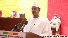 Premierminister von Mali Choguel Kokalla Maïga vor der Nationalversammlung am 30. Juli 2021 in Bamako. Copyright: Mahamadou Kane/DW