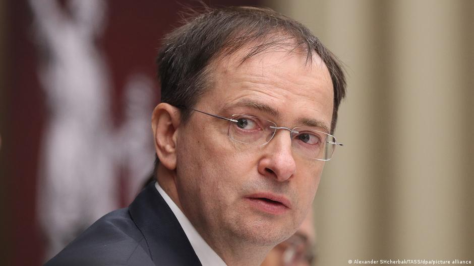 russischer ex-Kulturminister Vladimir Medinsky