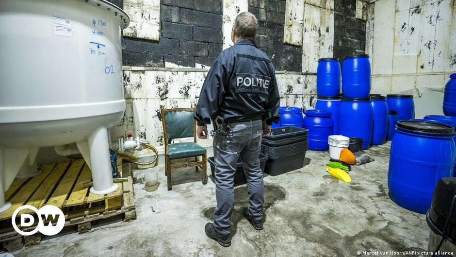 Dutch police bust country's 'biggest' meth lab