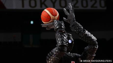 BdTD Olypmia Basketball Roboter