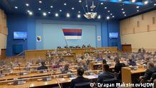 Sitzung der Nationalversammlung der Republika Srpska Autor: Dragan Maksimovic-DW Korrespondent aus Banja Luka Datum: 31.07.2021