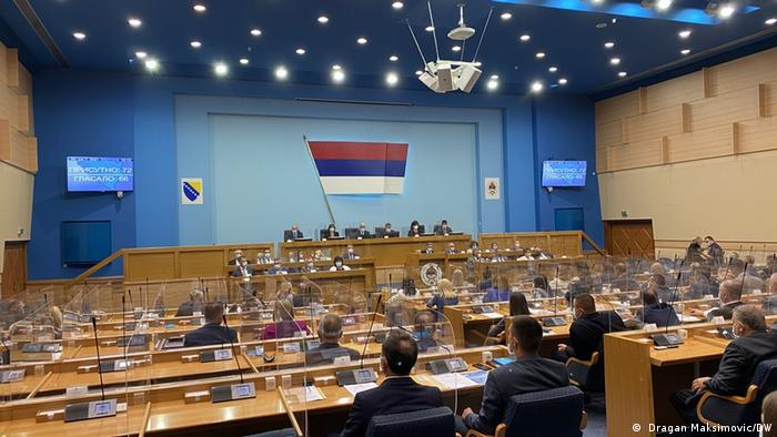 Sitzung der Nationalversammlung der Republika Srpska