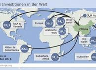 Infografik über Investitionen Chinas weltweit (Grafik: DW)