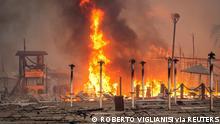 Sizilien Waldbrände