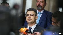 Plamen Nikolov, nominiert für Premierminister von Bulgarien