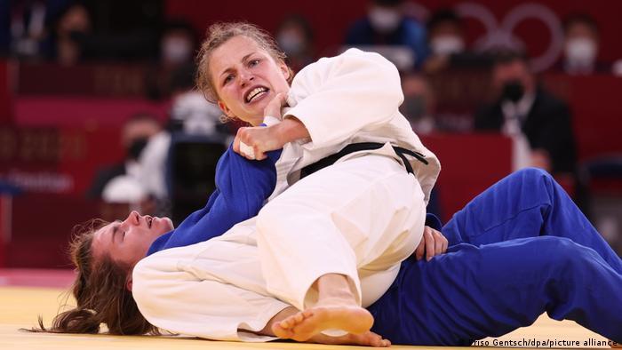 Tokio 2020 - Judo Theresa Stoll Sanne Verhagen