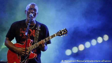 Jacob Desvarieux le 14 juillet 2009 en concert à Alger