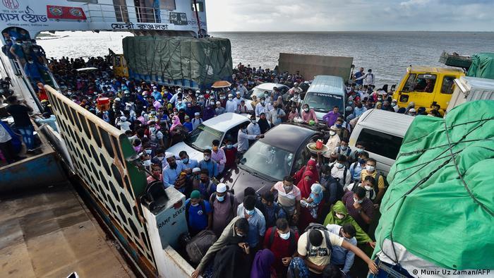 বাংলাদেশে করোনা সংক্রমণ বাড়ছে