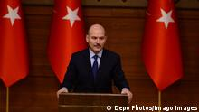 02.01.2020*** FILE - Turkey s Interior Minister S¸leyman Soylu said on Twitter on April 12 that he was resigning from his post over the implementation of a two-day curfew in major Turkish cities to tackle the coronavirus outbreak. Copyright: DepoxPhotos 16614406