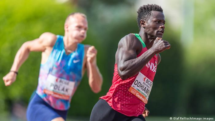 El velocista keniano Mark Odhiambo dio positivo por un esteroide anabólico, en lo que es el primer caso de dopaje detectado en los Juegos Olímpicos Tokio 2020, indicó la Agencia de Controles Internacionales (ITA). Odhiambo fue suspendido de las eliminatorias masculinas de 100 metros programadas para este sábado (31.07.2021).