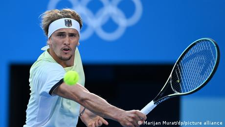 <div>JUST IN - Alexander Zverev wins gold in men's tennis, the first singles gold for Germany since 1988</div>
