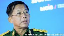 Myanmar: Senior General Min Aung Hlaing