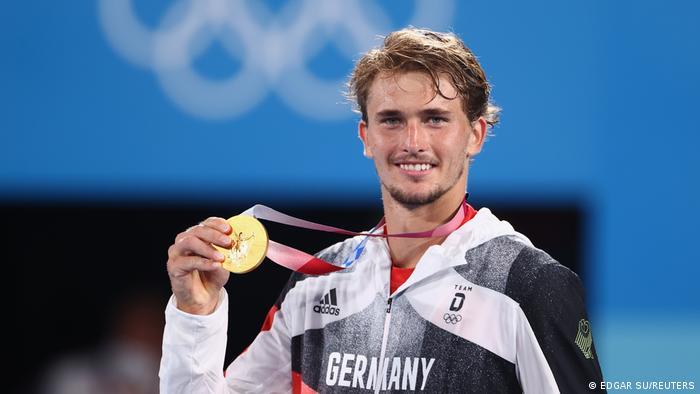 Tennis - Men's Singles - Medal Ceremony Alexander Zverev
