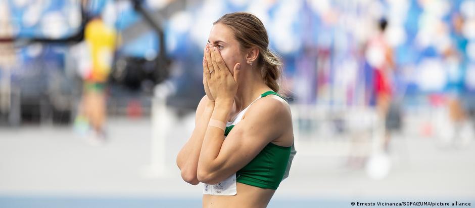 Белорусская спортсменка Кристина Тимановская