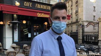 Сильван Бело - владелец ресторана на Монмартре