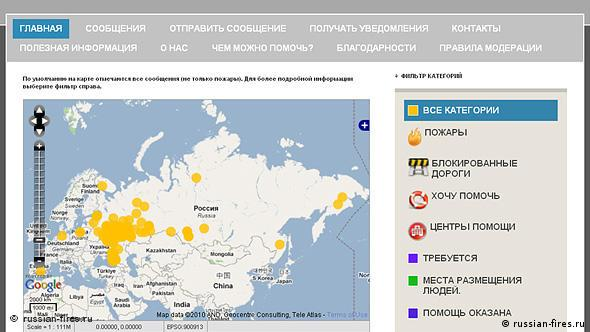 Скриншот russian-fires.ru/verwenden.
