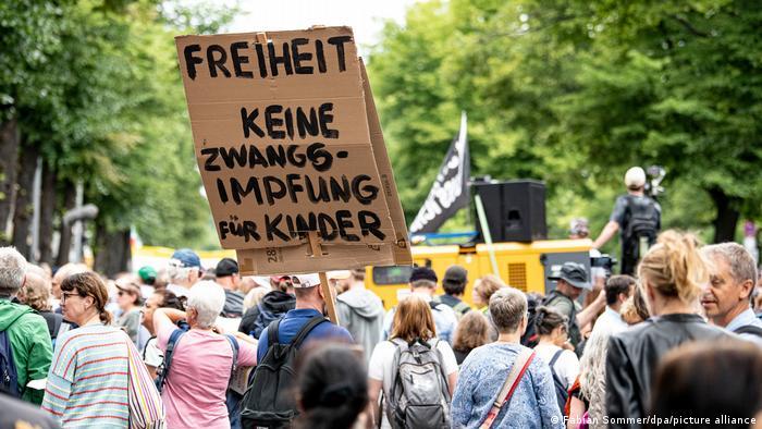 Demonstrationsverbot in Berlin I Querdenker