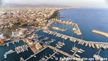 Aerial view of Limassol Marina, Cyprus PUBLICATIONxINxGERxSUIxAUTxONLY Copyright: xf8grapherx Panthermedia19836323