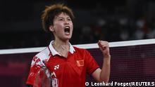 Tokio 2020   Badminton   Dameneinzel   Goldmedaillenspiel