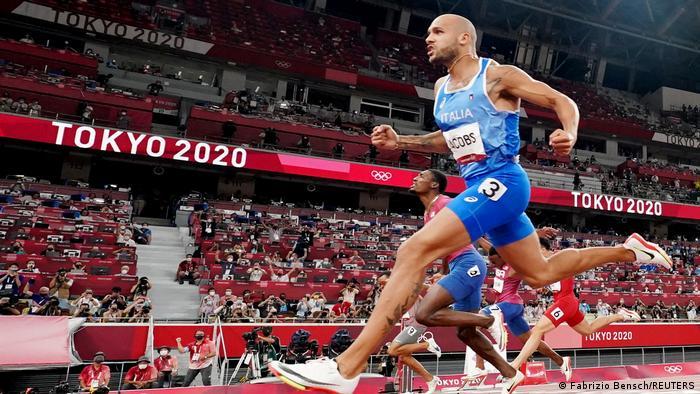 Olympia 2020 Tokio | Lamont Marcell Jacobs Italien 100m