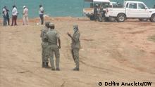 Pemba, Cabo Delgado, Mosambik+++Polizei vor Ort, in Pemba,