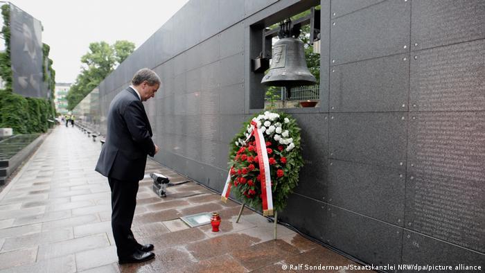 Laschet in Polen beim Gedenken an Warschauer Aufstand