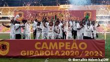 Girabola, Sagrada Esperança ist zum zweiten Mal in 16 Jahren Girabola-Meister. Foto: Borralho Ndomba/DW 31.7.2021